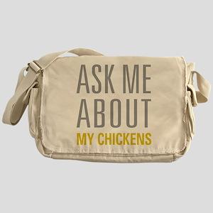 My Chickens Messenger Bag