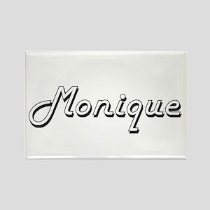 Monique Classic Retro Name Design Magnets