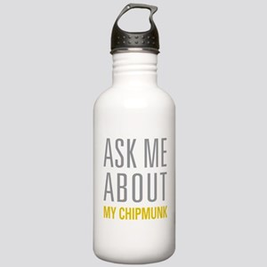 My Chipmunk Stainless Water Bottle 1.0L