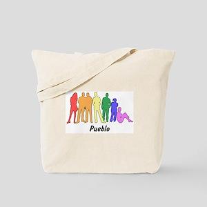Pueblo diversity Tote Bag
