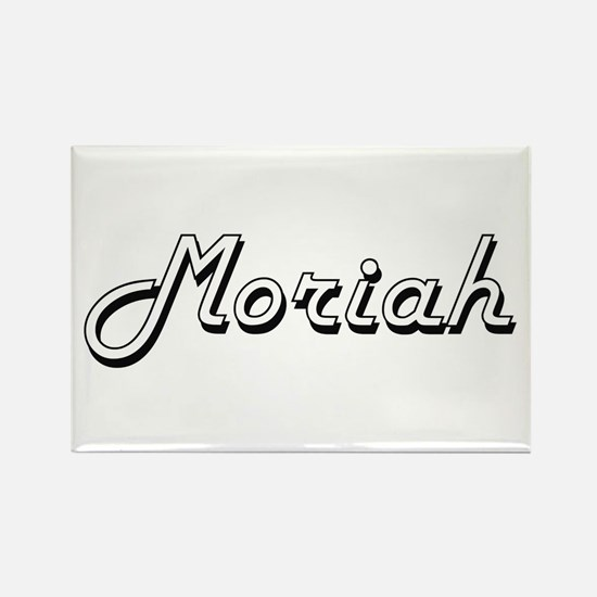 Moriah Classic Retro Name Design Magnets