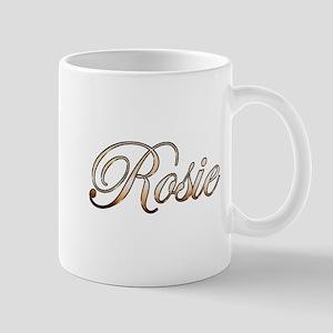 Gold Rosie Mugs