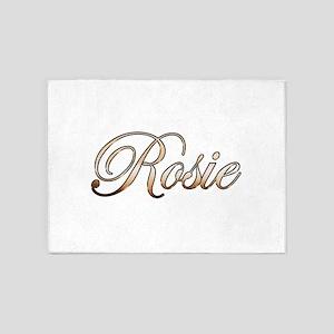 Gold Rosie 5'x7'Area Rug