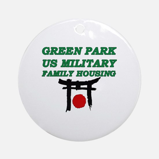 Green Park Japan Round Ornament