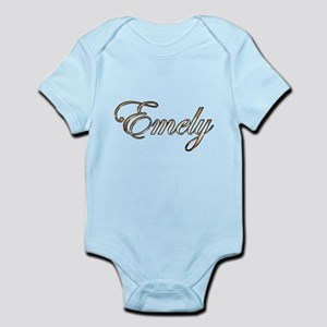 Gold Emely Body Suit