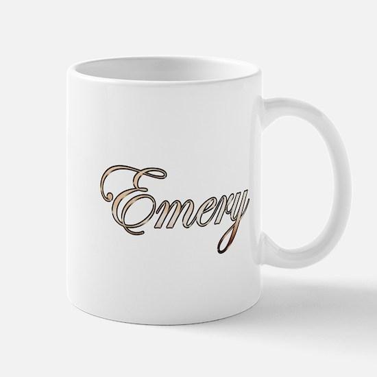 Gold Emery Mugs