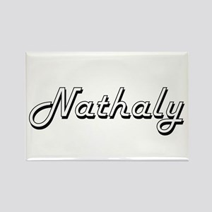 Nathaly Classic Retro Name Design Magnets