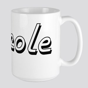 Nicole Classic Retro Name Design Mugs