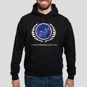 Star Trek United Federation of Plane Hoodie (dark)