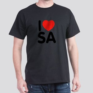 I Love SA Dark T-Shirt