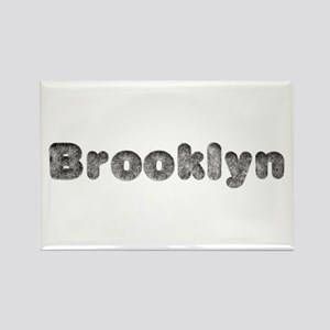 Brooklyn Wolf Rectangle Magnet