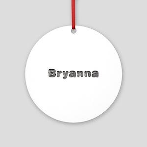 Bryanna Wolf Round Ornament