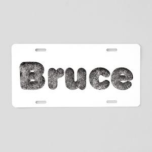 Bruce Wolf Aluminum License Plate