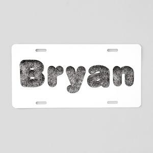 Bryan Wolf Aluminum License Plate