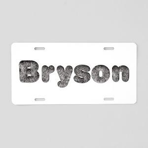 Bryson Wolf Aluminum License Plate