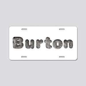 Burton Wolf Aluminum License Plate