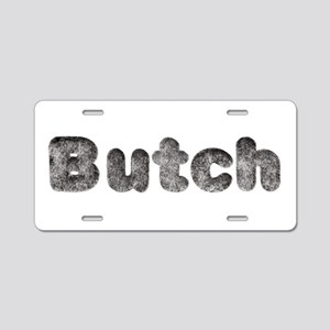 Butch Wolf Aluminum License Plate