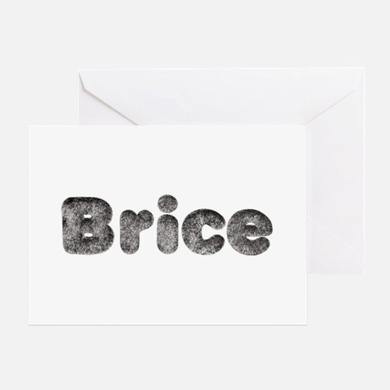 Brice Wolf Greeting Card