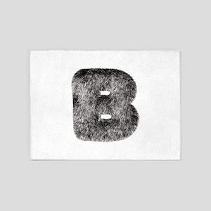 B Wolf 5'x7' Area Rug