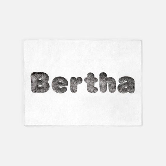 Bertha Wolf 5'x7' Area Rug