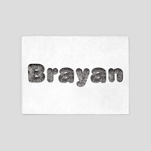 Brayan Wolf 5'x7' Area Rug
