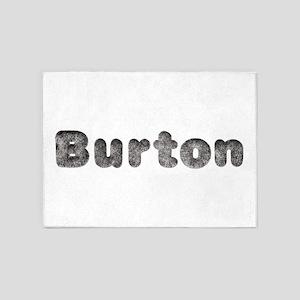 Burton Wolf 5'x7' Area Rug