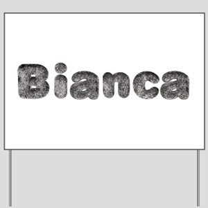 Bianca Wolf Yard Sign