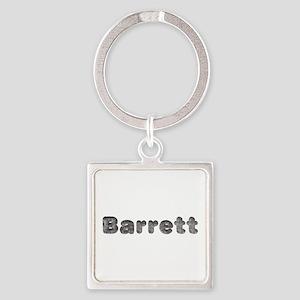 Barrett Wolf Square Keychain