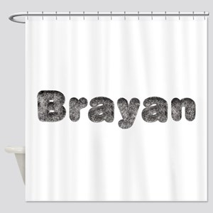 Brayan Wolf Shower Curtain