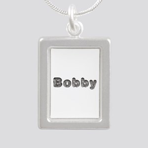 Bobby Wolf Silver Portrait Necklace