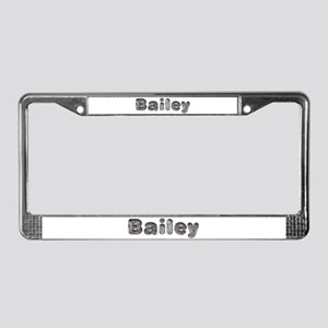Bailey Wolf License Plate Frame