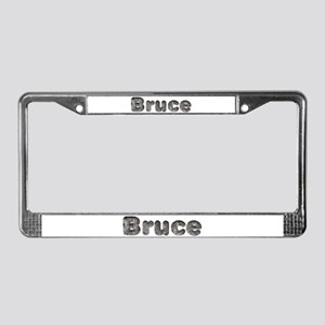 Bruce Wolf License Plate Frame