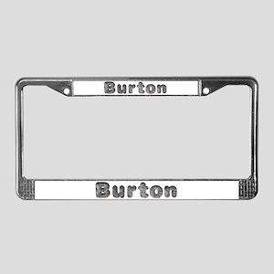 Burton Wolf License Plate Frame