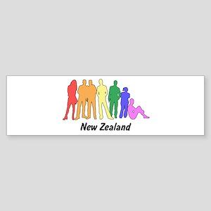 New Zealand diversity Bumper Sticker