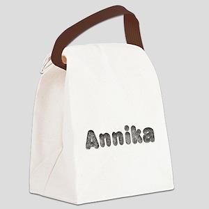 Annika Wolf Canvas Lunch Bag