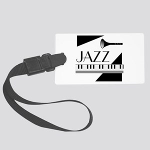 Love For Jazz - Large Luggage Tag