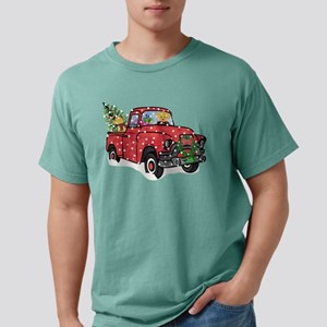 Golden Retrievers Xmas R Mens Comfort Colors Shirt