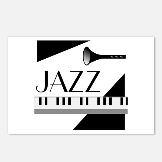 Love For Jazz - Postcards (Package of 8)