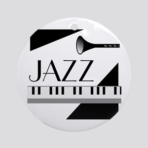 Love For Jazz - Ornament (Round)