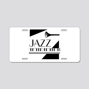 Love For Jazz - Aluminum License Plate