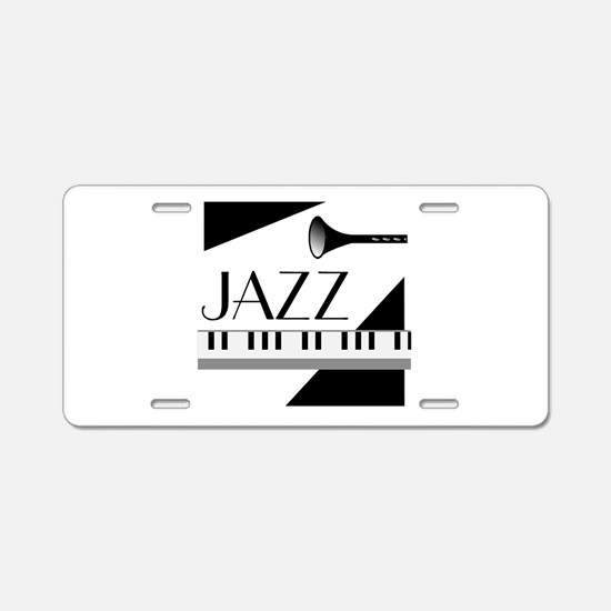 Love For Jazz - Aluminum License Plate