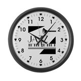 Jazz with Giant Clocks