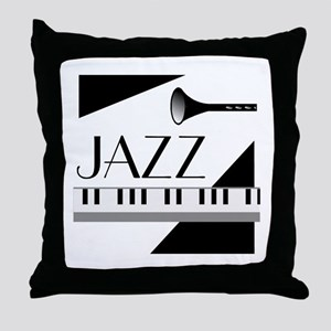 Love For Jazz - Throw Pillow