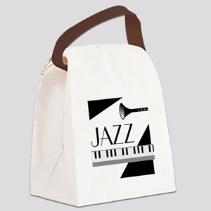Love For Jazz - Canvas Lunch Bag