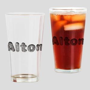 Alton Wolf Drinking Glass