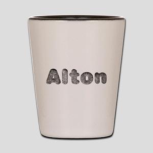 Alton Wolf Shot Glass