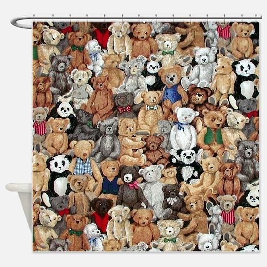 Bears Shower Curtain
