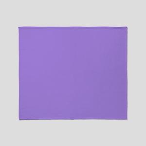 Light Violet Throw Blanket