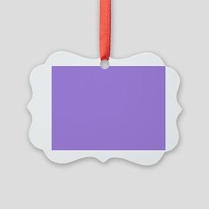 Light Violet Picture Ornament