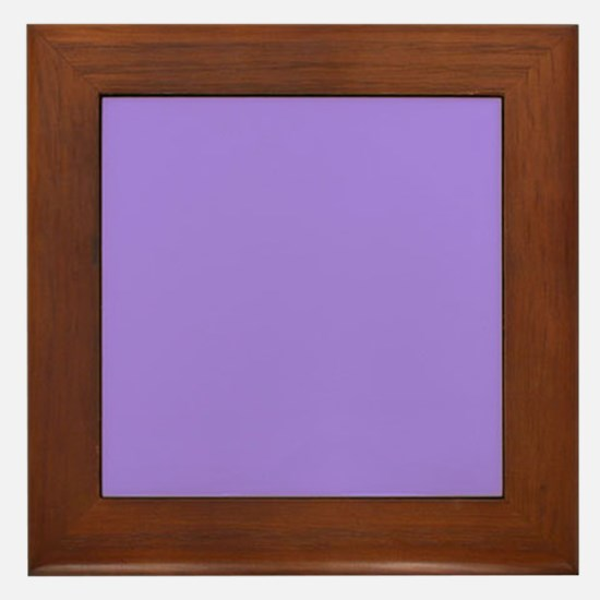 Light Violet Framed Tile